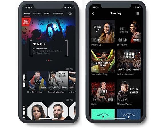 UFC Ultimate Sound app